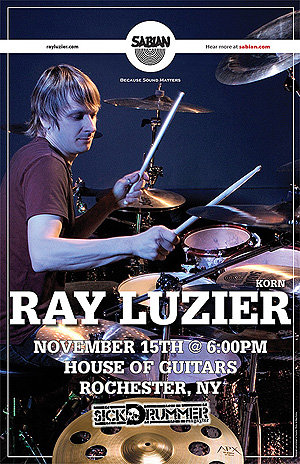 Ray Luzier Drum Clinic 08